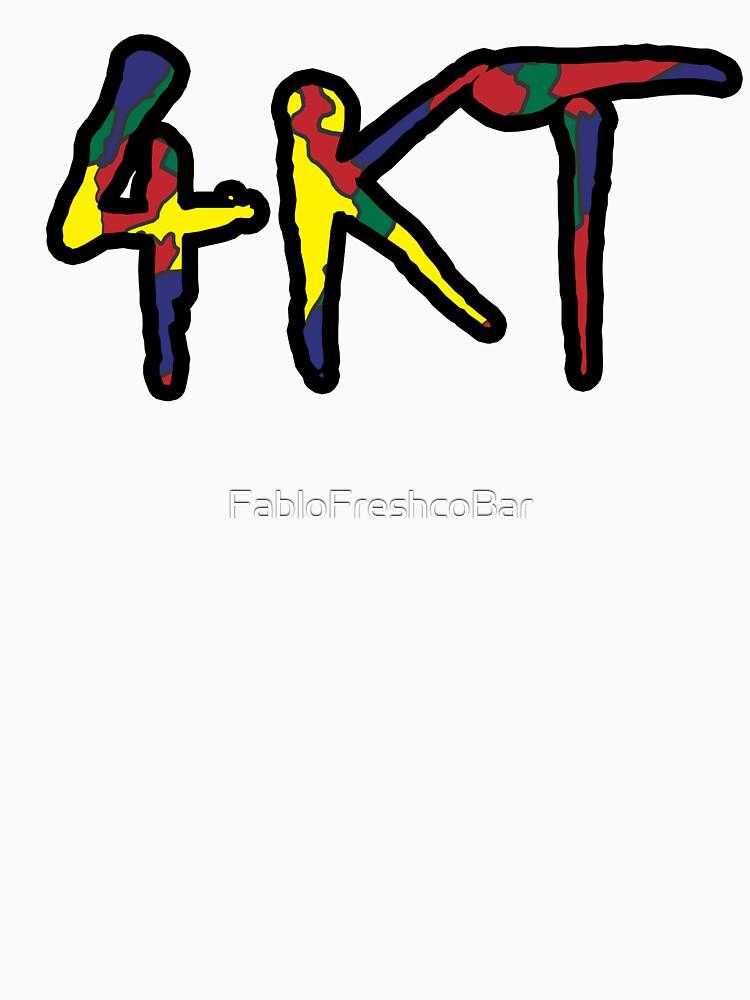 4kt hip hop gang farbiger junge t shirt von fablofreshcobar redbubble - What is 4kt gang ...