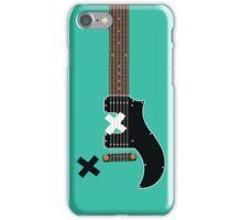 Michael's Green Guitar iPhone Case/Skin