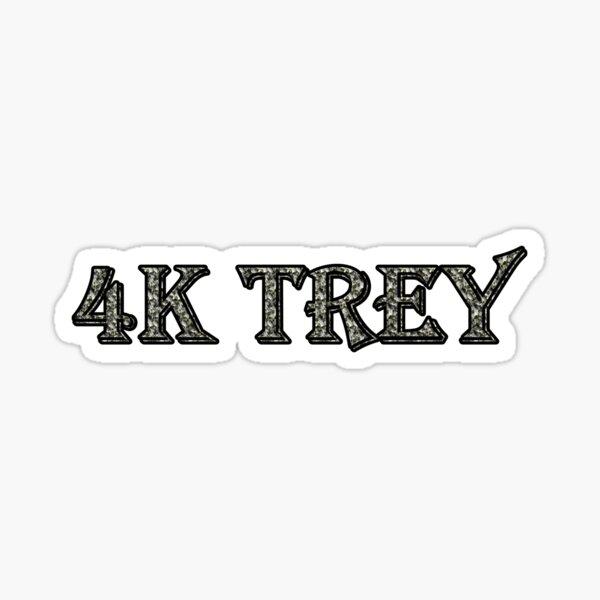 4k Trey Sticker By Fablofreshcobar Redbubble
