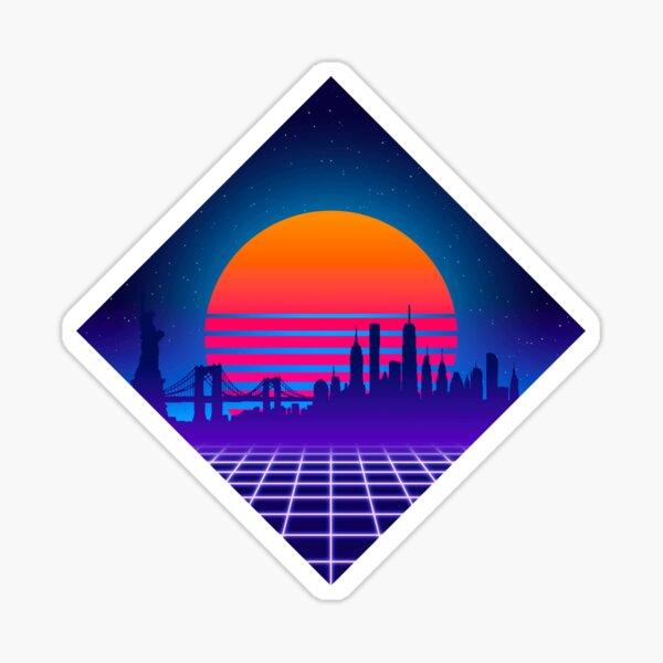 Outrun NYC Sticker