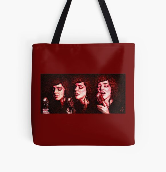 Gabby Young All Over Print Tote Bag