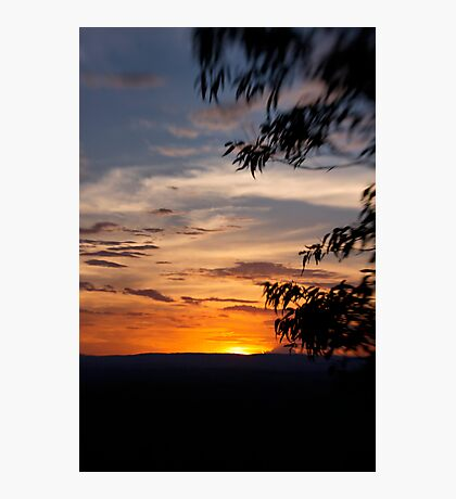 Sunset at The Bluff Photographic Print