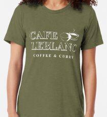 Camiseta de tejido mixto Cafe Leblanc