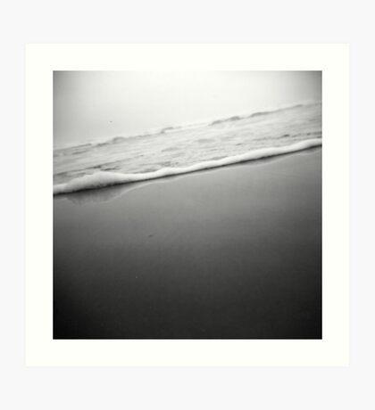waves through a holga Art Print