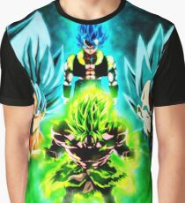 Fusion vs Broly Graphic T-Shirt