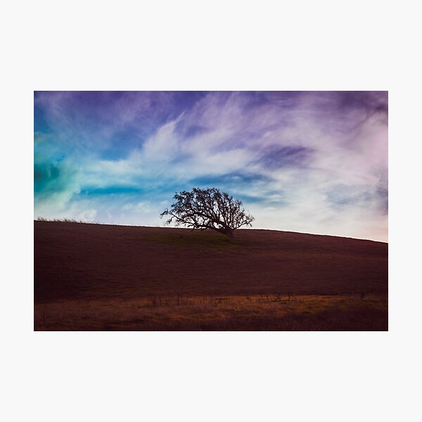 Hollister Sunset - Blue Photographic Print