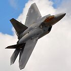 F-22 Raptor by Steven Squizzero