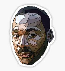 Martin Luther King MLK Digital Pop Art Geometric Sticker