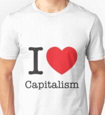 I Love Capitalism Unisex T-Shirt