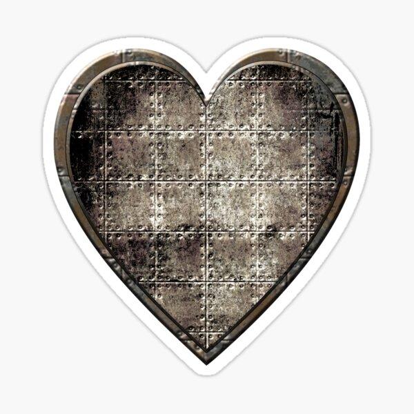 Steampunk Heart Sticker