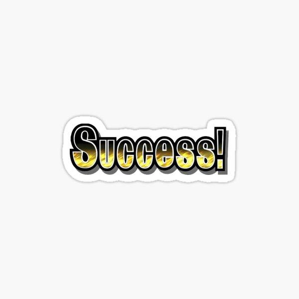 Super Smash Bros Melee Success! Sticker