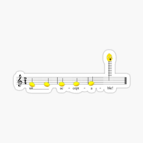 lemon grab melody Sticker