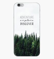 Adventure. Explore. Discover. iPhone Case