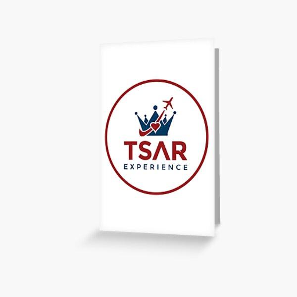 Tsar Experience Full Logo Designs Greeting Card