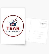 Tsar Experience Full Logo Designs Postcards