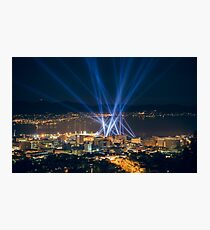 Articulated Intersect Over Hobart Photographic Print