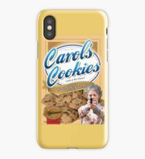 Famous Carol's Cookies iPhone Case