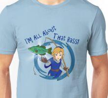 All About That Bass - Link Blue Unisex T-Shirt