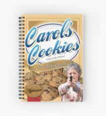 Famous Carol's Cookies Spiral Notebook