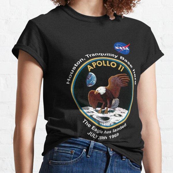 NASA Apollo The Eagle has landed Classic T-Shirt