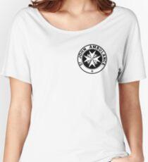 TARDIS St. John's Ambulance Logo (available as leggings!) Women's Relaxed Fit T-Shirt