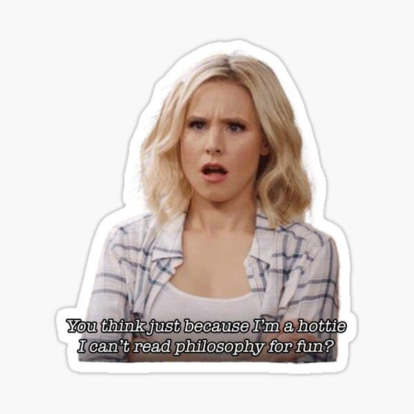 Read philosophy for fun Sticker