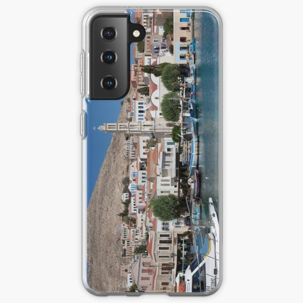 Sleepy Town and Harbour Samsung Galaxy Soft Case