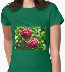 Sleeping in the Sun - Beautiful Crimson Blossoms T-Shirt