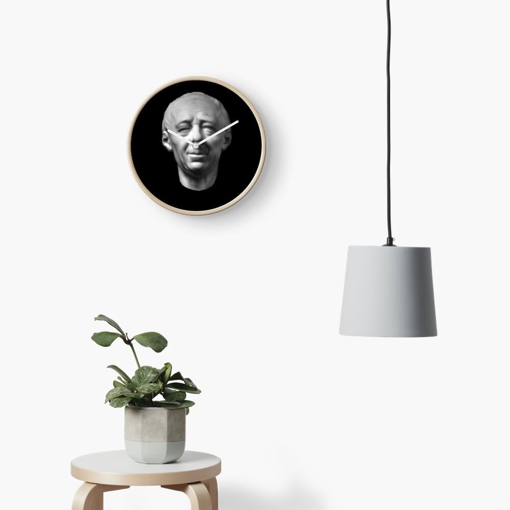 Leonhard Euler, portrait Clock