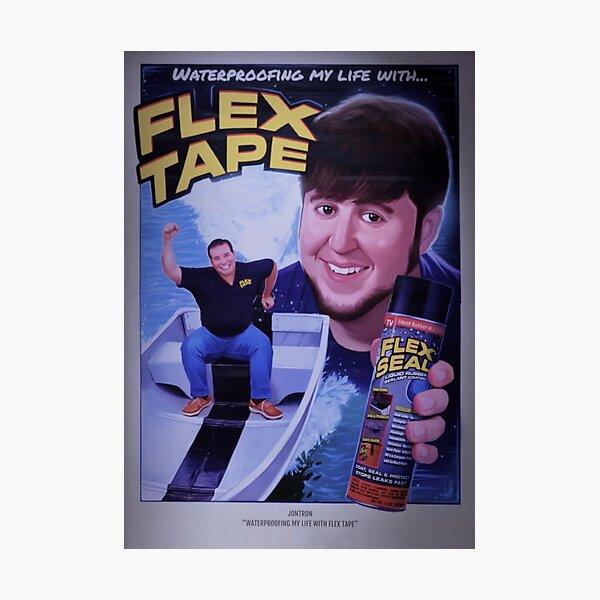 JonTron Flex Tape Movie Poster Photographic Print