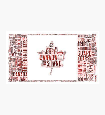 O Canada Photographic Print