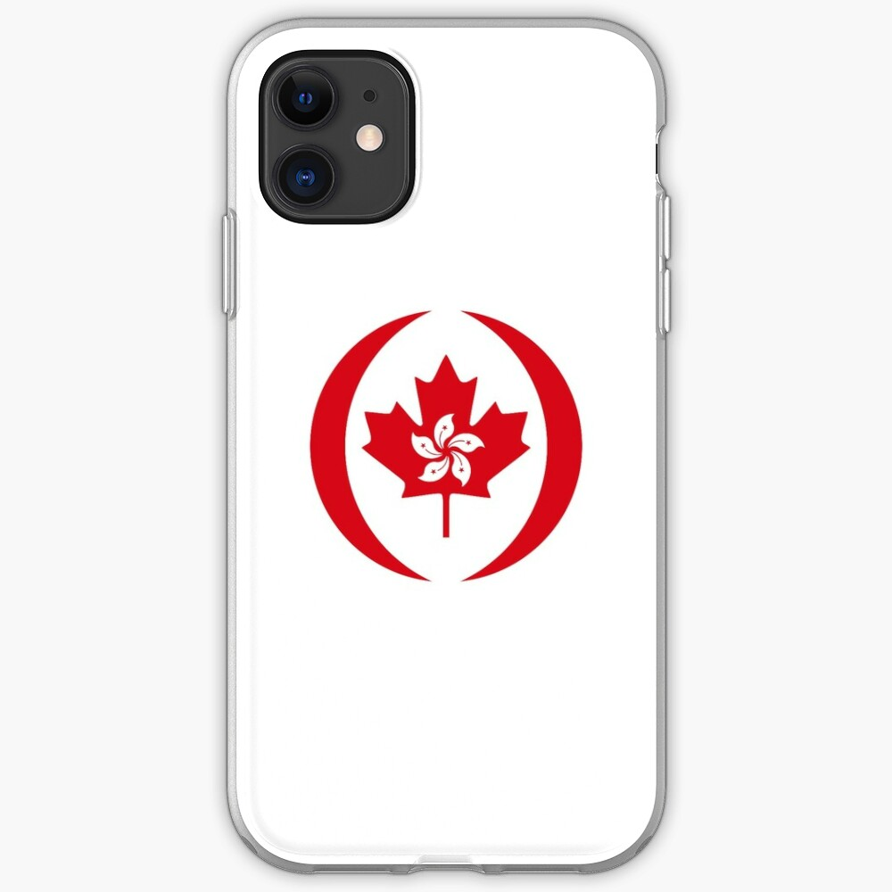 Hong Konger Canadian Multinational Patriot Flag Series iPhone Case & Cover