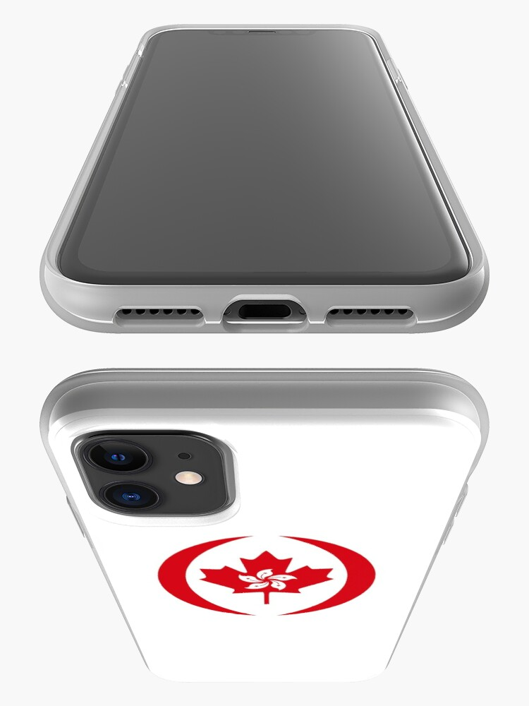 Alternate view of Hong Konger Canadian Multinational Patriot Flag Series iPhone Case & Cover