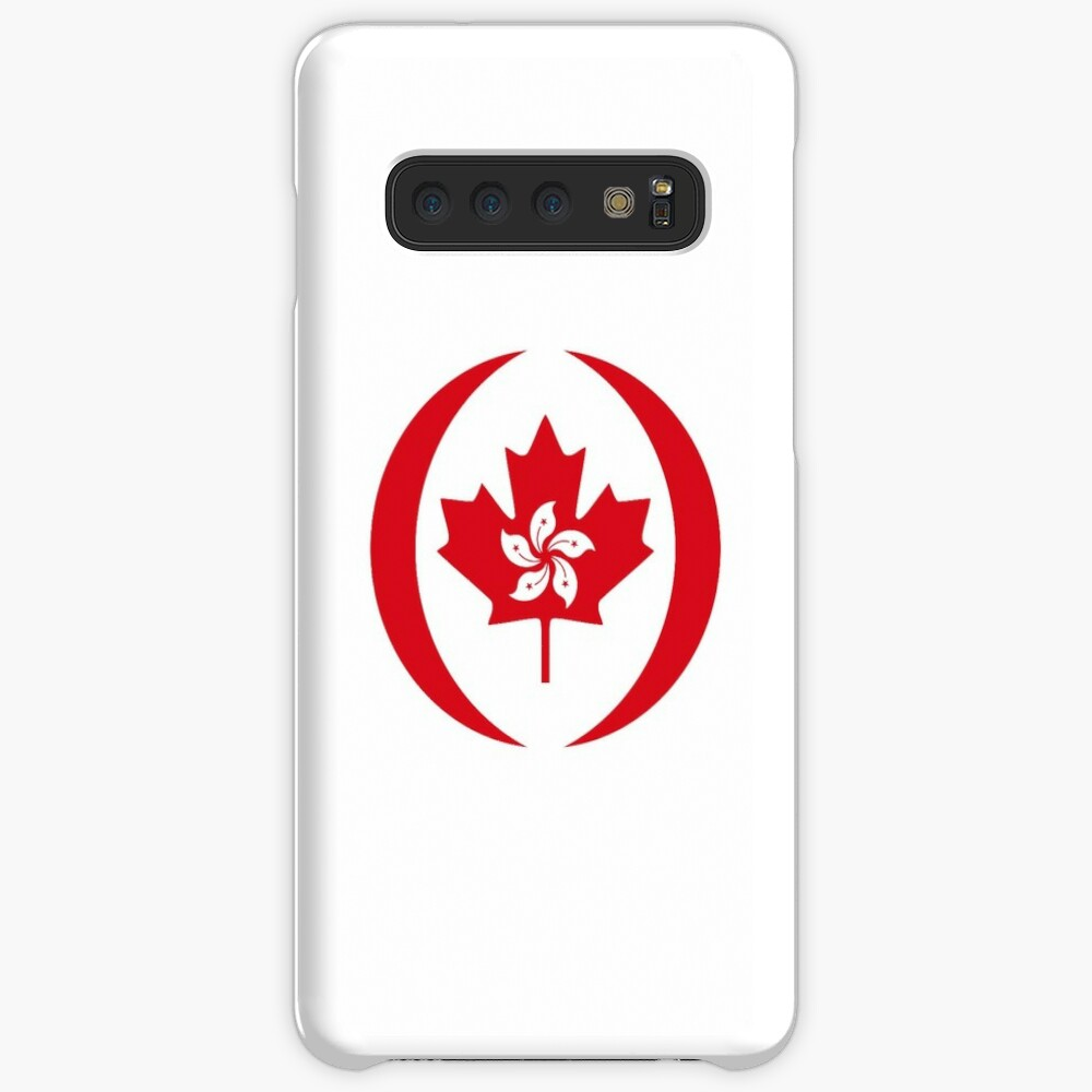 Hong Konger Canadian Multinational Patriot Flag Series Case & Skin for Samsung Galaxy