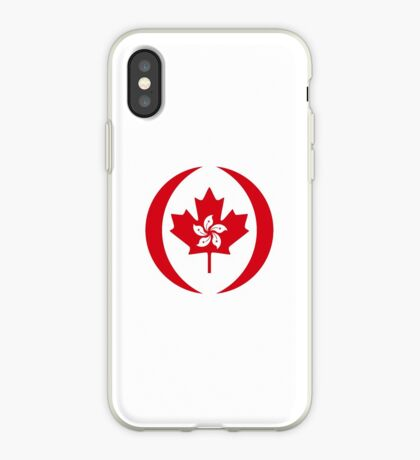 Hong Konger Canadian Multinational Patriot Flag Series iPhone Case