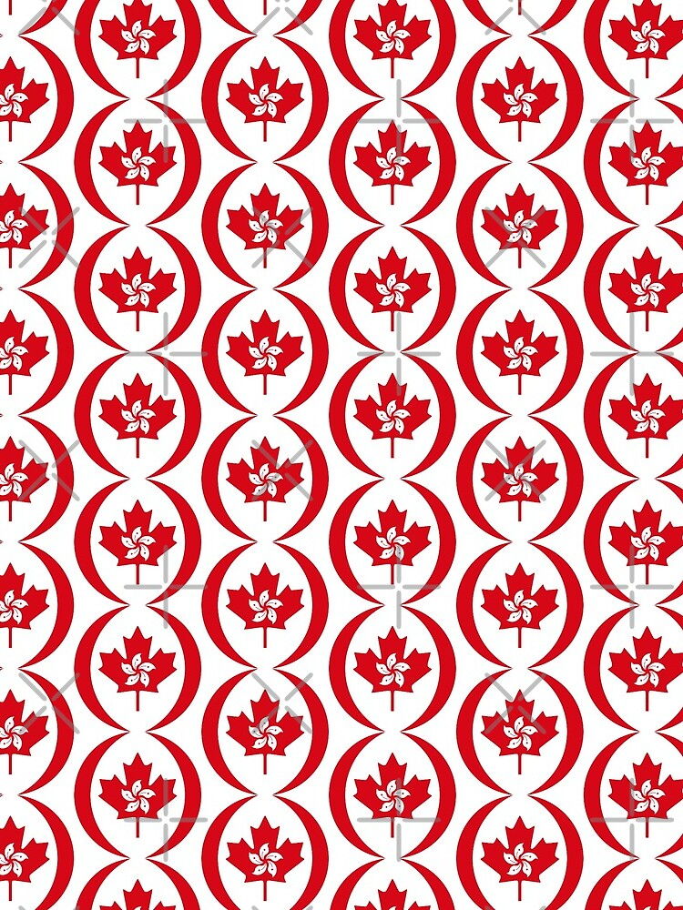 Hong Konger Canadian Multinational Patriot Flag Series by carbonfibreme