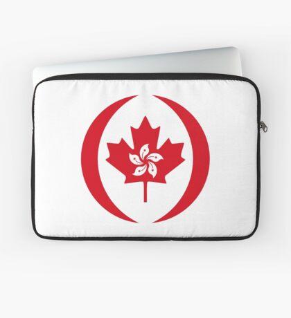 Hong Konger Canadian Multinational Patriot Flag Series Laptop Sleeve