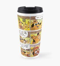 This is Fine (Full - 6 Panel Comic) Travel Mug