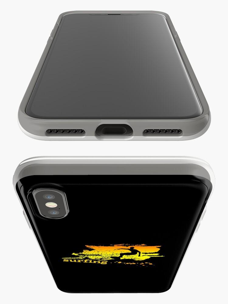 Vista alternativa de Funda y vinilo para iPhone Surf surf surfistas surf tabla surf ola regalo