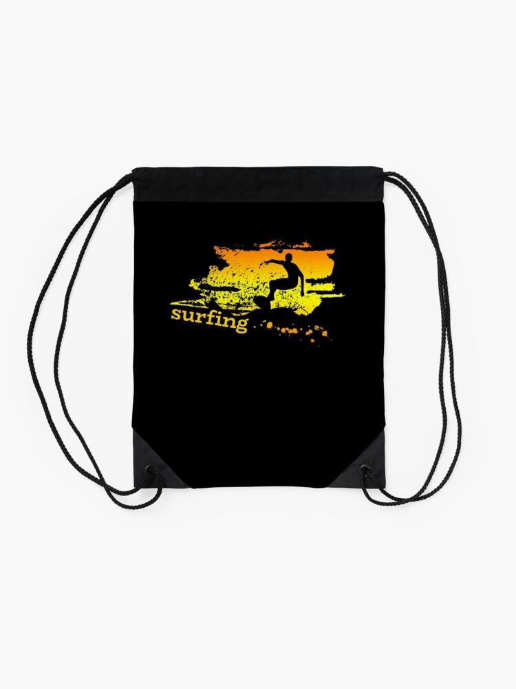 Vista alternativa de Mochila saco Surf surf surfistas surf tabla surf ola regalo
