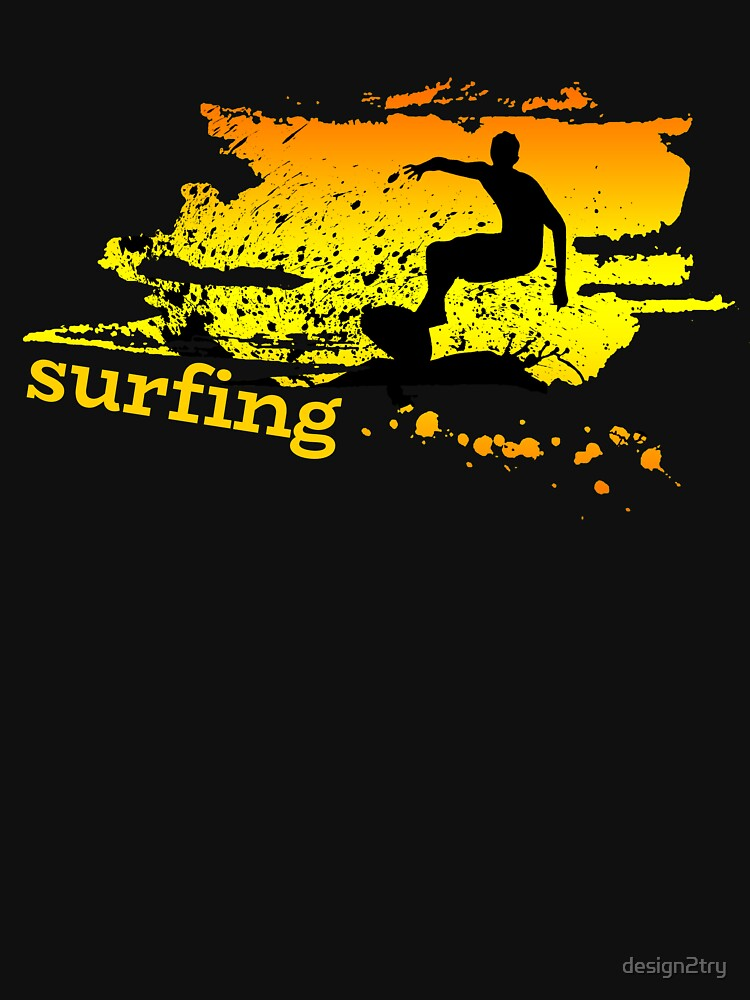 Surf surf surfistas surf tabla surf ola regalo de design2try