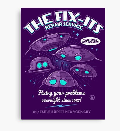 The Fix-Its Repair Service Canvas Print