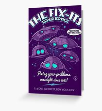 The Fix-Its Repair Service Greeting Card