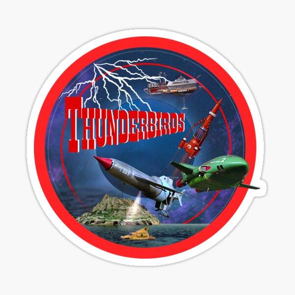 THUNDERBIRDS CIRCLE 1 Sticker