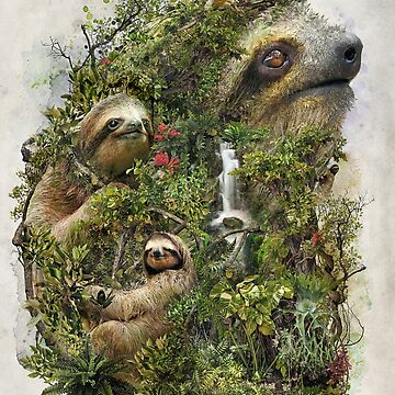 Sloth Surrealism by barrettbiggers
