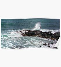 surf kauia high tides Poster