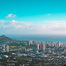 Honolulu Skyline from Tantalus by TPRVisuals