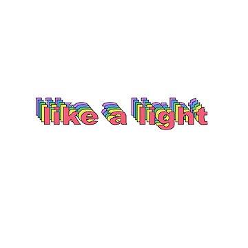 like a light by jennvanh17