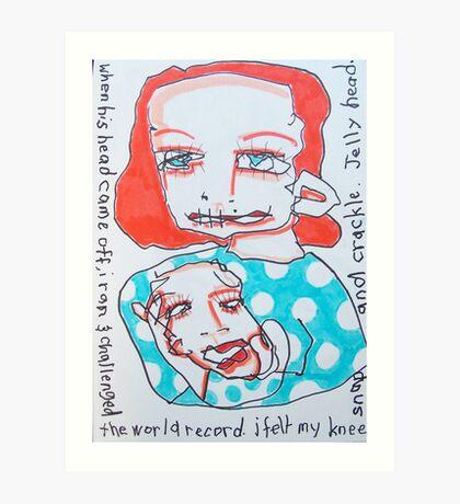 JellyHead Art Print