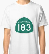 California State Route 183 Classic T-Shirt